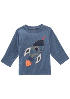 First Impressions Baby Boys Rocket-Print T-Shirt, Created for Macy's