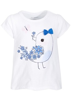 First Impressions Baby Girls Blue Bird T-Shirt, Created for Macy's