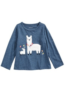 First Impressions Baby Girls Llama Tee, Created for Macy's