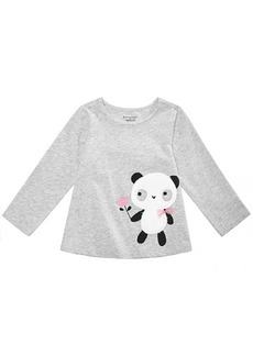 First Impressions Baby Girls Panda Graphic Cotton Shirt, Created for Macy's