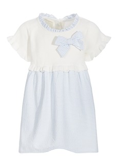 First Impressions Baby Girls Seersucker Dress Set, Created for Macy's