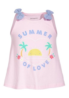 First Impressions Toddler Girls Summer Love Cotton Top, Created for Macy's