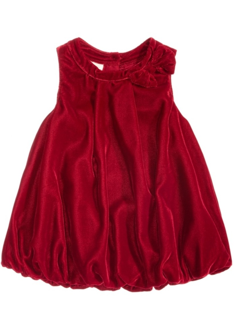 First Impressions First Impressions Velvet Bubble Dress