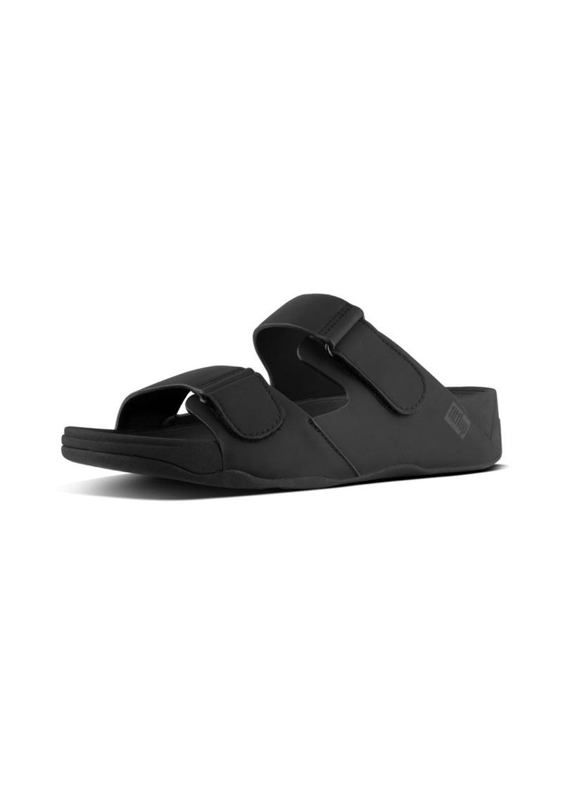 FITFLOP Men's Gogh MOC Adjustable Slide Sandals-Neoprene   M US