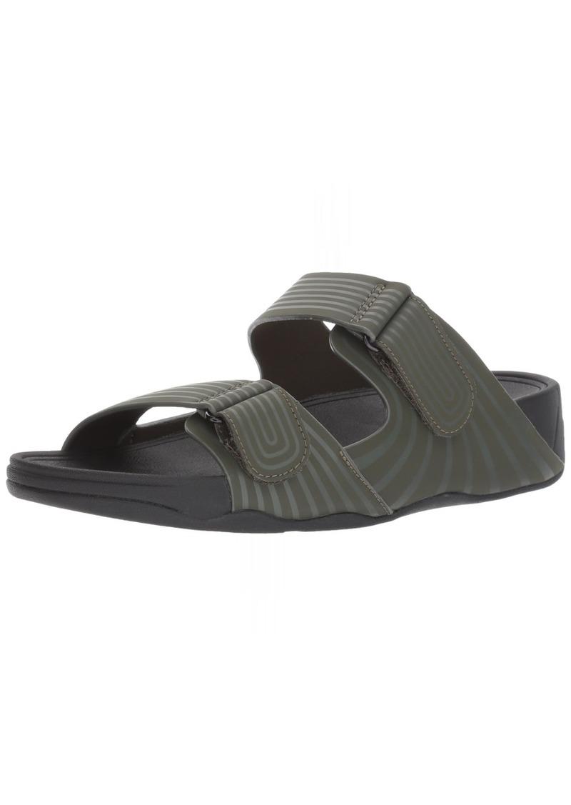 FitFlop Men's Gogh Sport Slide Adjustable Sandal   M US
