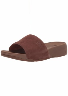 FitFlop Men's Kano Nubuck Slide Sandal   M US