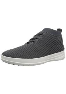 FitFlop Men's Uberknit Slip-ON HIGH TOP Sneaker in Waffle Knit   M US