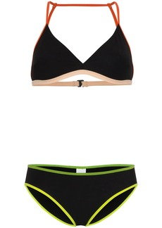 Flagpole Ellie contrast-trim bikini