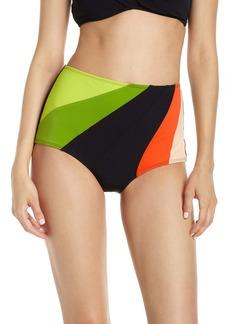 Flagpole Ariya High Waist Bikini Bottoms