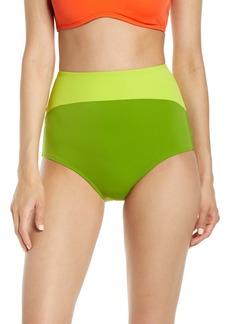 Flagpole Lily High Waist Bikini Bottoms