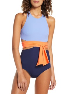 Flagpole Lynn One-Piece Sash Swimsuit (Nordstrom Exclusive)