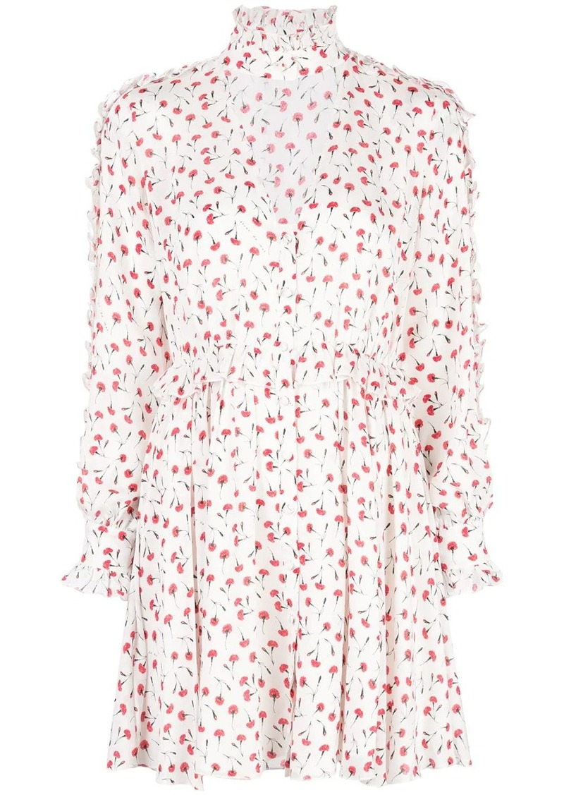 Fleur Du Mal floral print flared dress