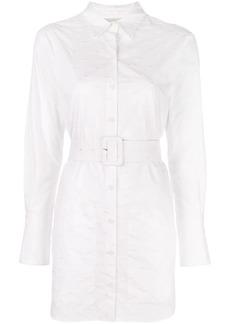 Fleur Du Mal belted shirt dress