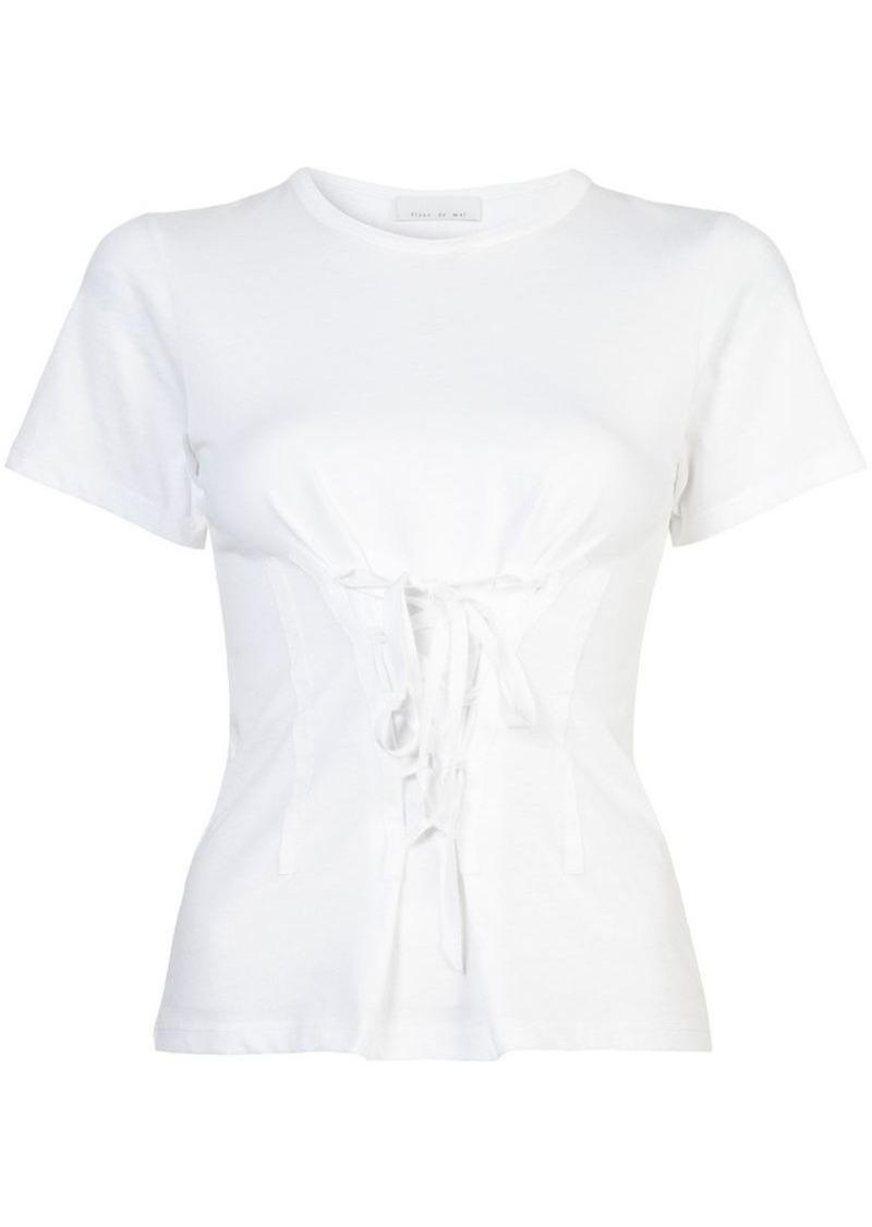 Fleur Du Mal corset T-shirt
