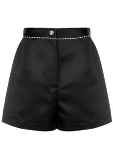 Fleur Du Mal crystal embellished shorts