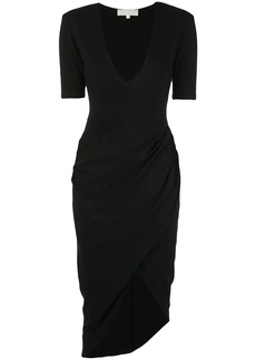 Fleur Du Mal draped midi dress