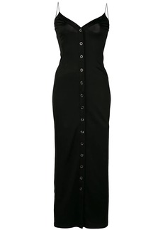 Fleur Du Mal fitted snap dress