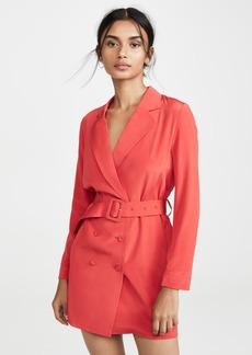 Fleur du Mal Belted Blazer Dress