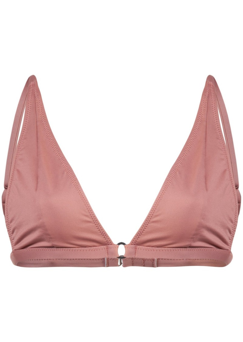 Fleur Du Mal Built Up triangle bikini top
