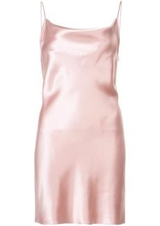 Fleur Du Mal cowl neck slip dress