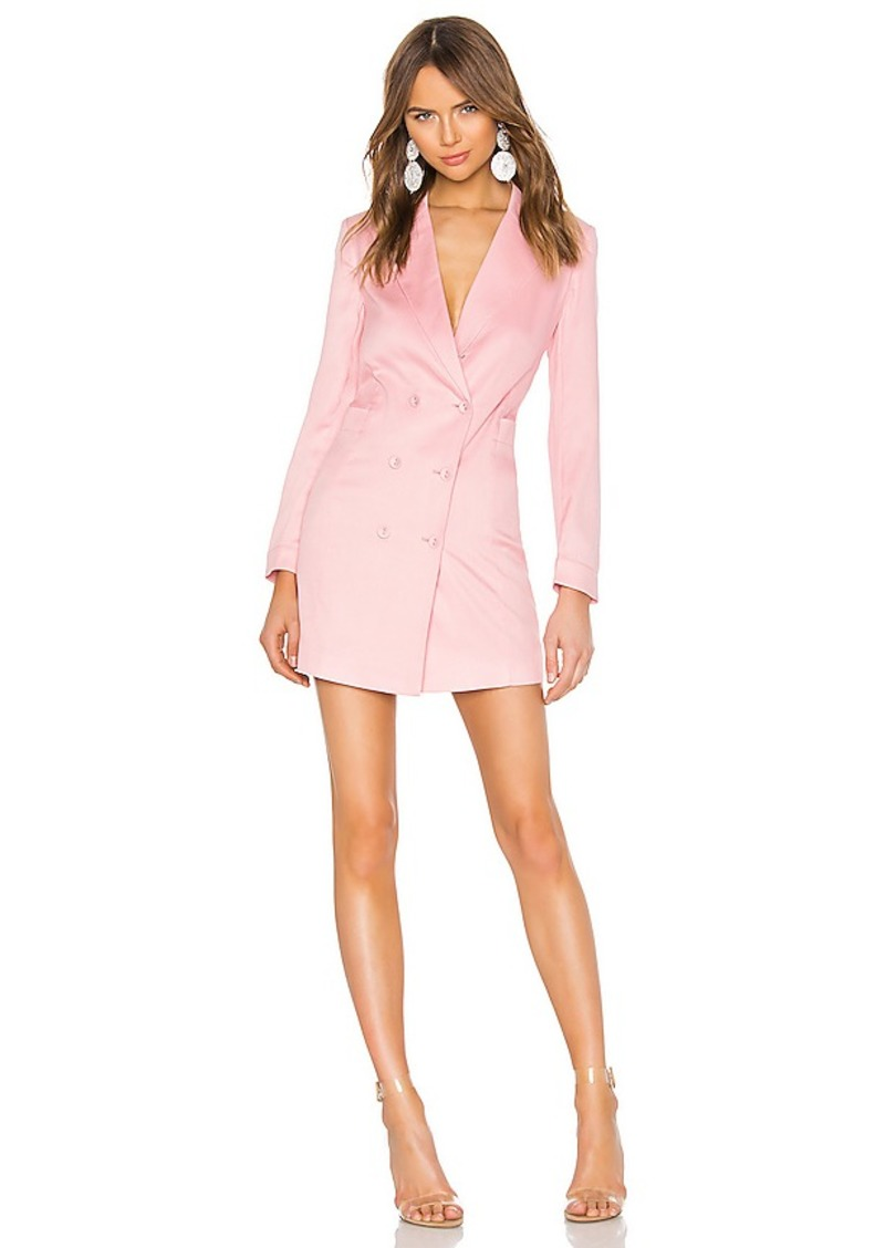 fleur du mal Double Breasted Blazer Dress