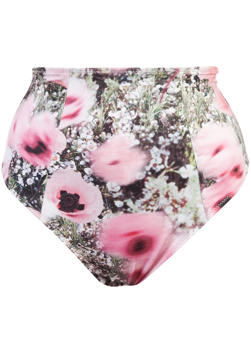 Fleur Du Mal high waisted bikini bottoms