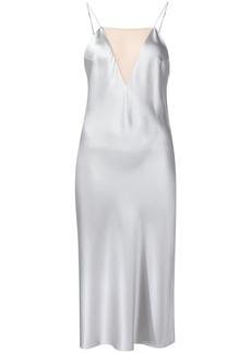 Fleur Du Mal sheer panel slip dress
