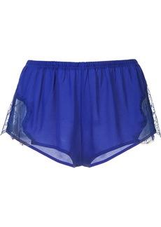 Fleur Du Mal Tap shorts - Blue