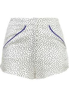 Fleur Du Mal Tap shorts - White