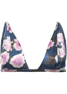 Fleur Du Mal floral print built-up bra