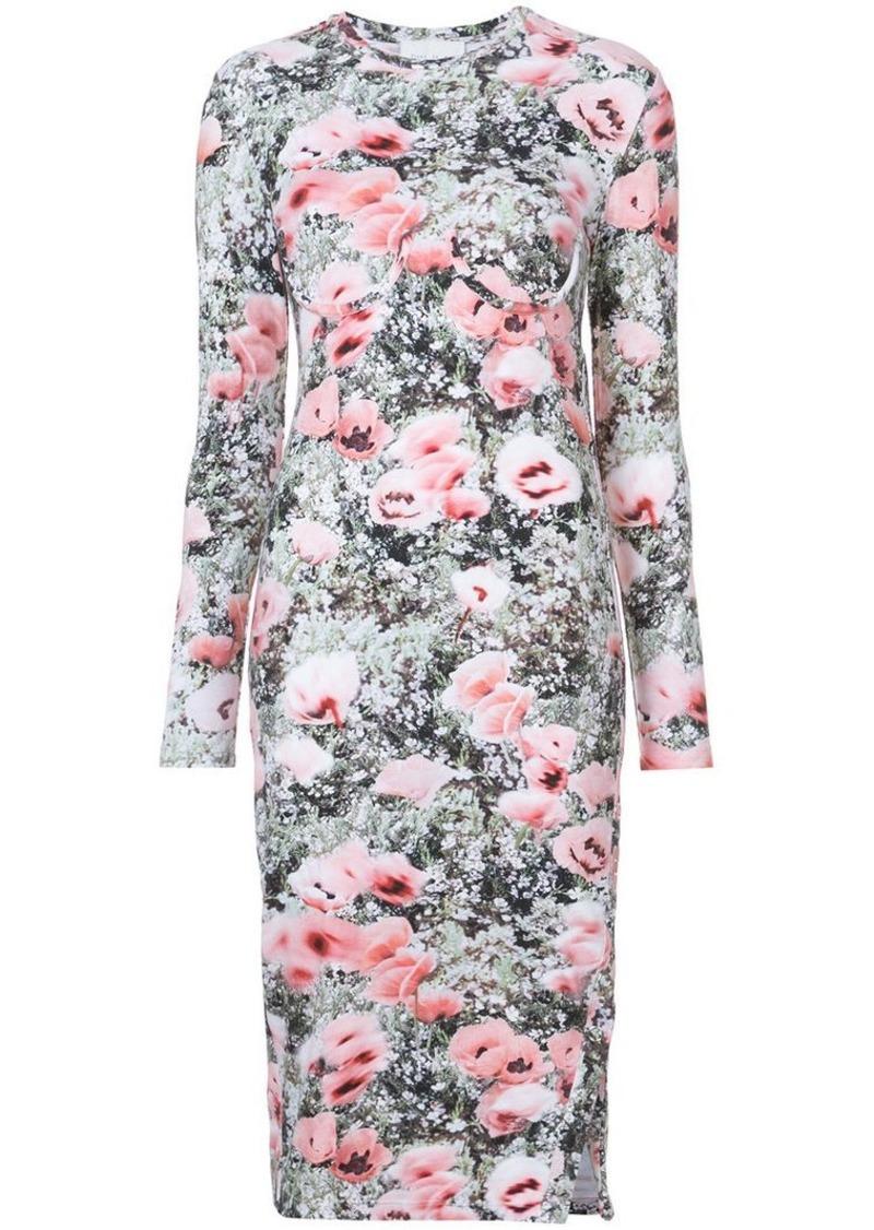 Fleur Du Mal floral print longsleeved dress