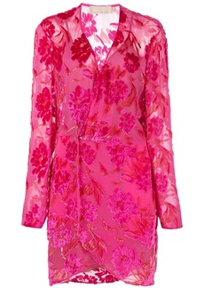 Fleur Du Mal floral wrap dress