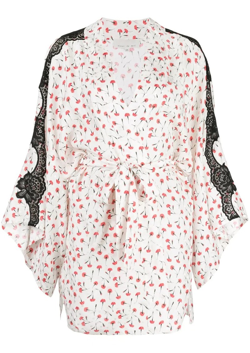 James lace robe