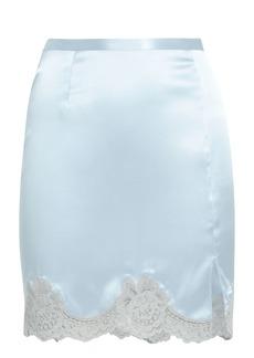 Fleur Du Mal James Slip Skirt