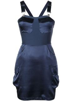 Fleur Du Mal overall mini dress