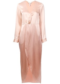 Fleur Du Mal plunging wrap-around dress