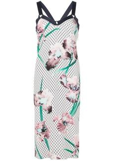 Fleur Du Mal printed midi dress