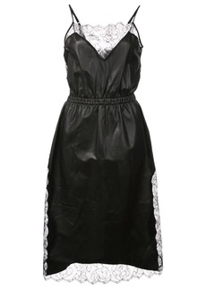 Fleur Du Mal rose laced dress