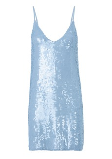 Fleur Du Mal Sequin Mini Slip Dress
