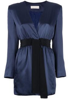 Fleur Du Mal short wrap-style dress