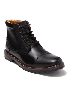 Florsheim Fenway Leather Cap Toe Boot