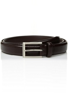 Florsheim Men's Crackle Grain Leather Belt 30MM
