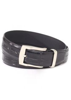 Florsheim Men's Croc Embossed Italian Leather Belt 32MM