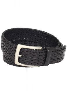 Florsheim Men's Hand Woven Genuine Leather Belt