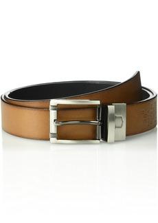 Florsheim Men's Hargrove Reversible Belt black/Cog