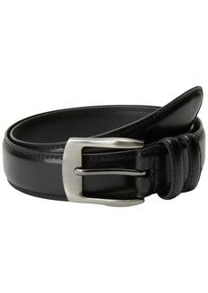 Florsheim Men's Pebble Grain Leather Belt 35MM