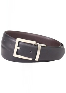 Florsheim Men's Reversible Belt 30MM Black/Brown