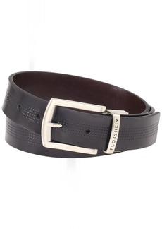 Florsheim Men's Reversible Casual 35MM Belt Black/Brown