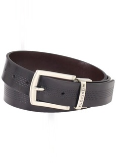 Florsheim Men's Reversible Casual 35MM Belt Black/Brown
