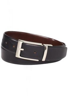 Florsheim Men's Reversible Full Grain Italian Leather Belt 32MM Black/Brown